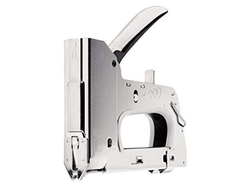 Rapid 20511750 Grapadora manual, gris, Agrafes pour câble No. 28 (9-11 mm)