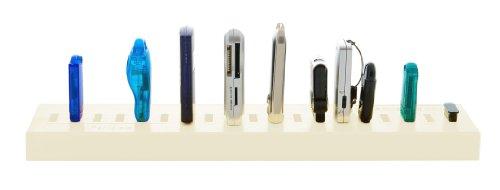 USB-Parkplatz (zur Lagerung von USB-Geräten, USB 2.0- und 3.0-kompatibel, für USB-Sticks und USB-Geräte geeignet, Büro-Accessoire oder Geschenk, das Aufräumutensil) - 5