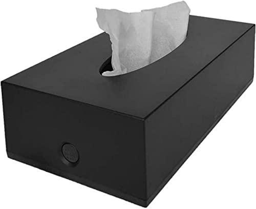 HKAFD Caja de Tejido de Papel de la Toalla de Papel Simple KTV de plástico Rectangular Creativo, 22.5x12x6.5cm