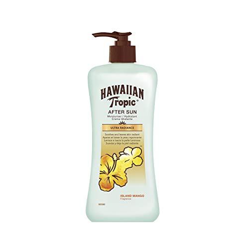 Hawaiian Tropic After Sun Ultra Radiance - Crema Hidratante para Después del Bronceado, Piel Brillante, 240 ml