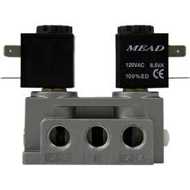 Bimba-Mead Air Valve N2-DCD-E-24VDC, 5 Port, 2 Pos, Dbl Solenoid, 1/4