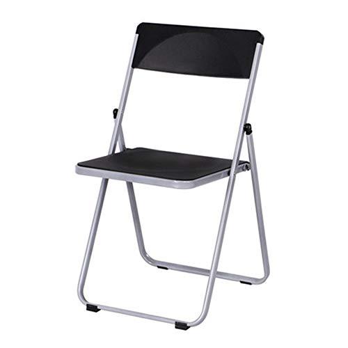ZXJUAN Modieuze klapstoel kantoor vergaderruimte stoel opleiding stoel negotiation stoel rugleuning van kunststof lounge stoel