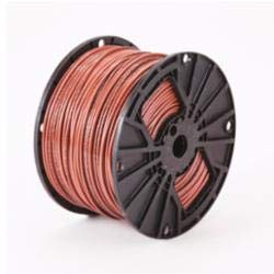 Approved Vendor B04083 Type XHHW-2 Building Wire, 12 AWG Stranded Copper Conductor, 500 ft L, Brown