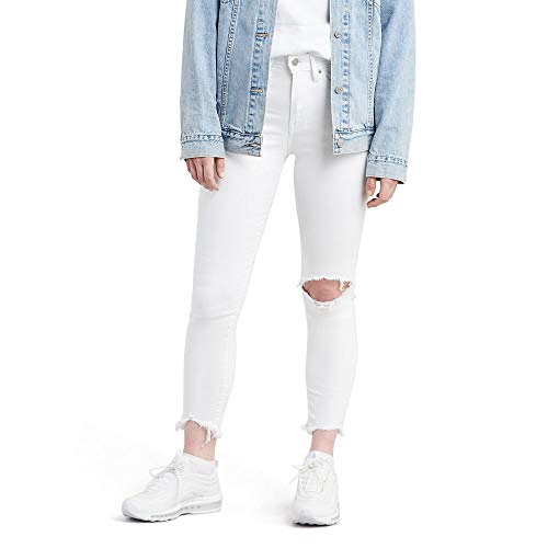 Levi's Women's 721 High Rise Skinny Ankle Jeans, Iced Out, 33 (US 16)