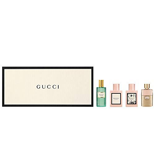 Gucci 4 Piece Mini Set for Women (Memoire, Bloom, Bloom Nettare Fiori, Guilty)