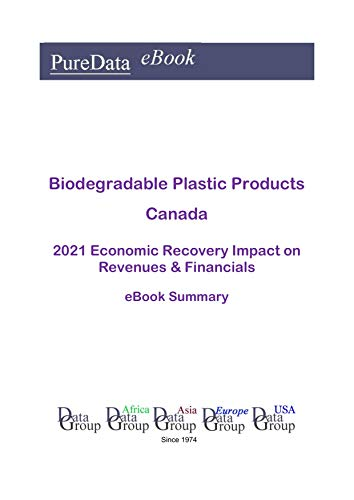 Biodegradable Plastic Products Canada Summary: 2021 Economic Recovery Impact on Revenues & Financials (English Edition)