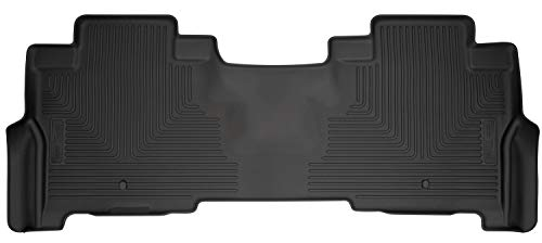 Husky Liners 14341 Fits 2018-19 Ford Expedition Weatherbeater 2nd Seat Floor Mat, Black