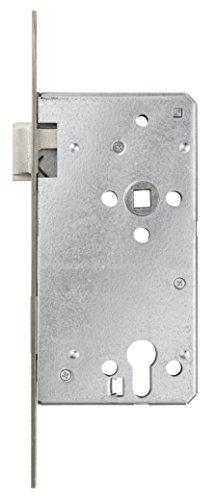 ABUS Tür-Einsteckschloss Profilzylinder THZ90 für DIN-links Türen, silber, 57206