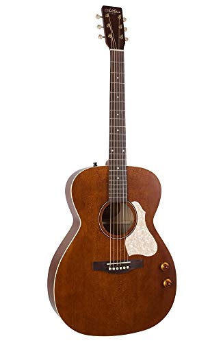 Art & Lutherie Legacy Concert Hall Electro Acoustic Guitar - Havana Brown - Q-Discrete