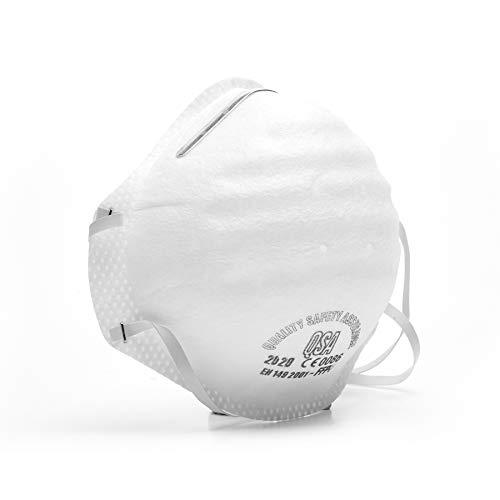 Maskers stofmasker stofmasker gasmasker filtermaskers filteren 80% fijne deeltjes,1 stuk