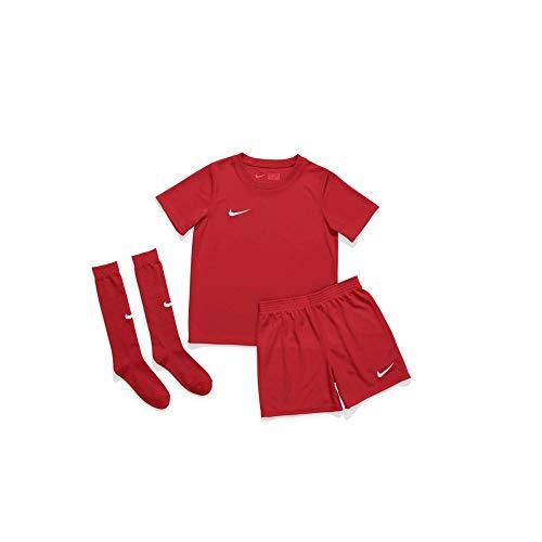 Nike Dri-Fit Park, Kit da Calcio Unisex Bambino, University Red/University Red/White, XS