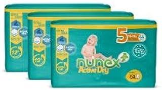 Pañales Nunex Active Dry (Talla 5 (13-28 kg)) (132 ud
