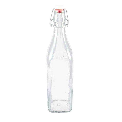 FLES 0,25 liter. 4KANT M. beugel.