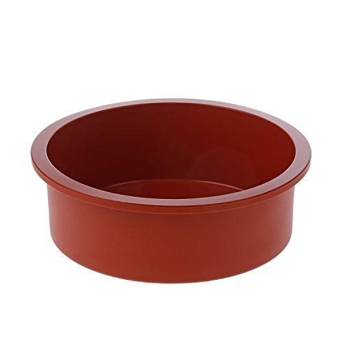 Silikomart 20.180.00.0060 SFT180 Moule Forme Ronde Silicone Terre Cuite