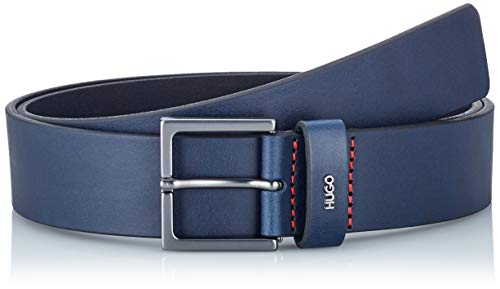 HUGO Mens Giove-L_Sz35 Belt, Navy (410), 105