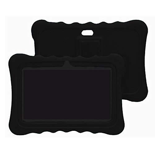 ZONKO 10 Inch / 10.1 Inch Silicone Tablet Case, Black
