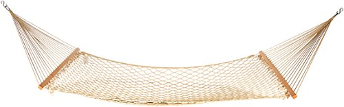 AmazonBasics LF60161 Cotton Rope Hammock Beige