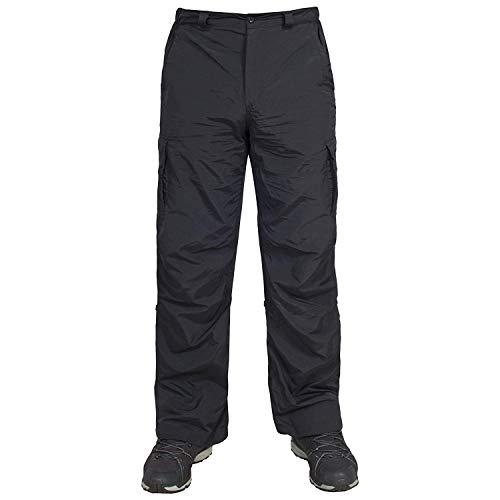 Trespass, pour Homme Taro Roll Up Pantalon, M/SL, Noir