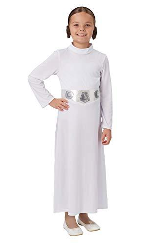 Rubie's officiële Disney Star Wars prinses Leia kind kostuum