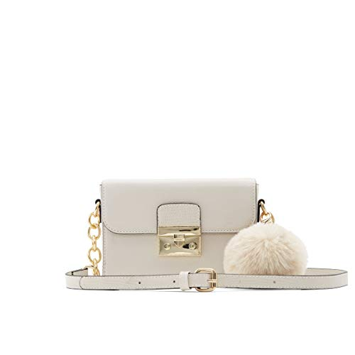 ALDO Women's Shaunna Crossbody Bag, Bone