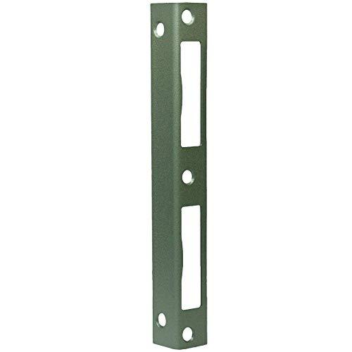 Secureo Winkelschließblech WS 95 käntig | DIN-links & DIN-rechts | 200 x 22 x 2 mm | vollverzinkt