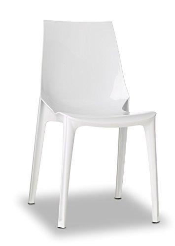 Scab Design Designer Stuhl Vanity weiß