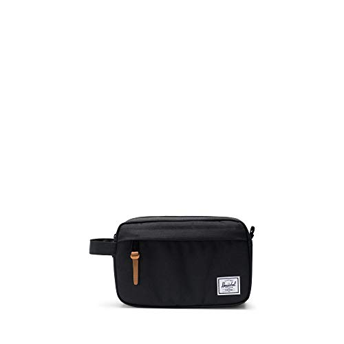 Herschel Chapter Toiletry Kit, Black I, Carry-On 3L