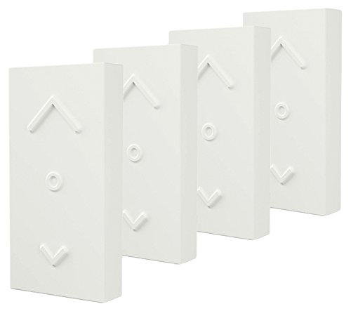 OSRAM Smart+ Mini Switch Weiß, ZigBee Lichtschalter, Dimmer und Fernbedienung für LED Lampen, Erweiterung für Ihr Smart Home, 4er Pack