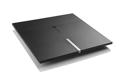 One For All DVB-T/DVB-T2 Indoor/Zimmerantenne - 4K 1080P HD/HDTV Fernseher TV Antenne mit Verstärker - 0-25 km Reichweite – 3 meter Koaxialkabel - UHF/VHF - Schwarz - SV9490