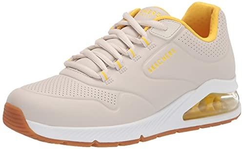 Skechers Women's UNO 2-2ND Best Sneaker, Natural, 11
