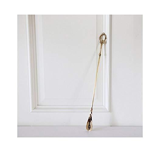 FQDQH Zapatos de elevación de Mano neoclásicos Europeos, Calzador de Oro con Cabeza de Caballo Creativo, artículos for el hogar, Dar a los Ancianos, for Mujeres Embarazadas