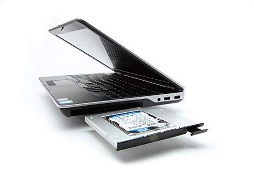 OptiBayHD Notebook Einbaukit für zweite Festplatte oder SSD in Dell Latitude E6540.