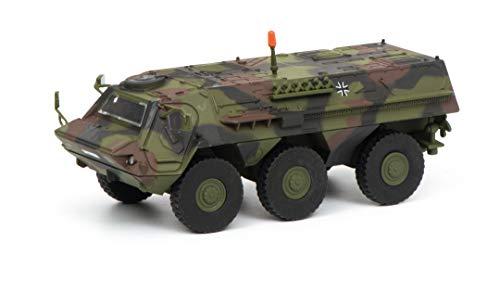 Schuco 452635800 Fuchs Transportpanzer BW 1:87 452635800-Fuchs, Flecktarn