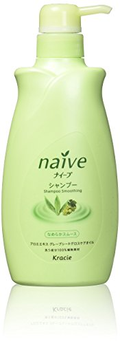 Naive Aloe Hair Shampoo by Kracie - 550ml by Kracie(Kanebo Home Products)