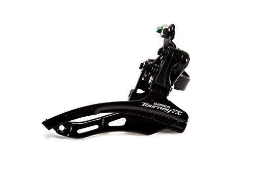 Shimano Tourney TZ FD-TZ500 Umwerfer Fahrrad 3x6/7-fach Down Swing Schelle schwarz