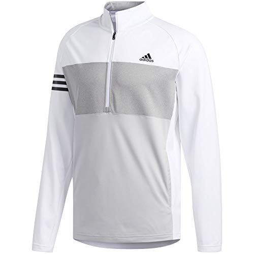 adidas Golf Men's Competition Sweater, White, Large