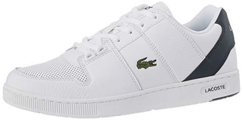 Lacoste Herren Thrill 0120 1 SMA Sneaker, Weißes Wht Dk Grn, 40 EU