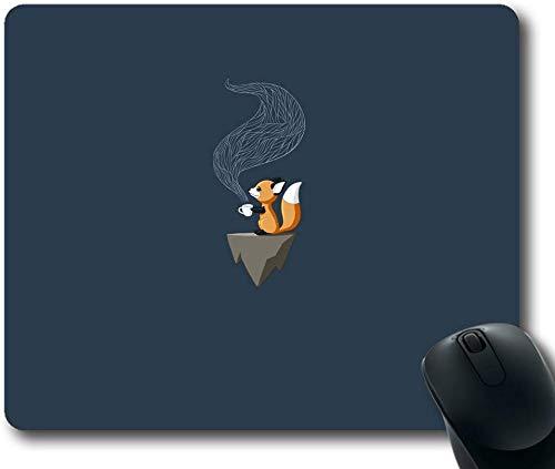 Aangepaste & Gepersonaliseerde Vos Thee Muis Pads/Matten-Foto Gedrukt Rechthoek/Oblong Mousepad, Size: 7.9x9.9 inches/20x25cm, Veelkleurig