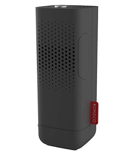 BONECO Luftreiniger P50-2-in-1 wasserloser Aroma Diffusor und Ionisator für unterwegs, schwarz