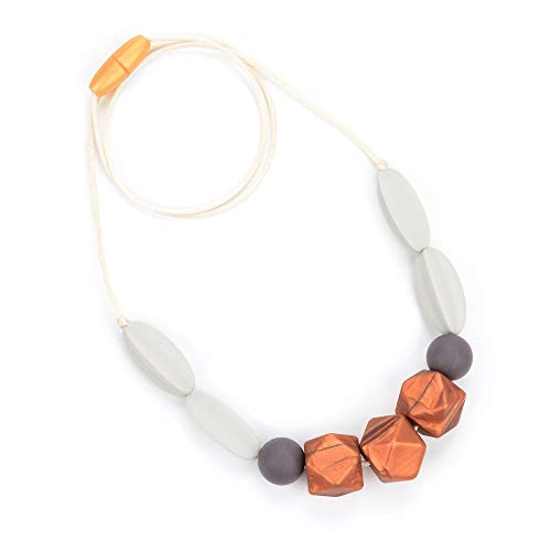 Best Buy! Bebe by Me 'Windsor' Silicone Teething Necklace for Nursing Moms
