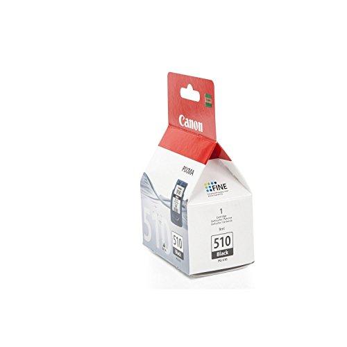 Original Tinte Canon PG510 , PG-510 2970B001 , 2970B001AA - Premium Drucker-Patrone - Schwarz - 220 Seiten - 9 ml
