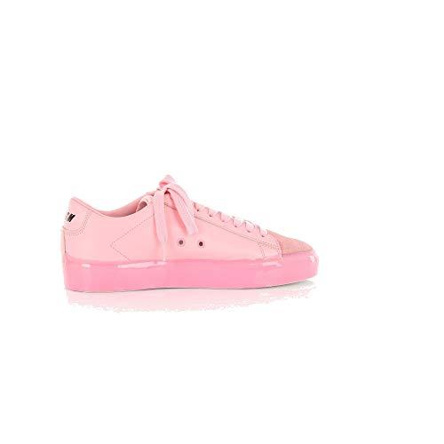 MSGM Luxury Fashion Damen 2841MDS102209ROSA Rosa Leder Sneakers | Jahreszeit Outlet