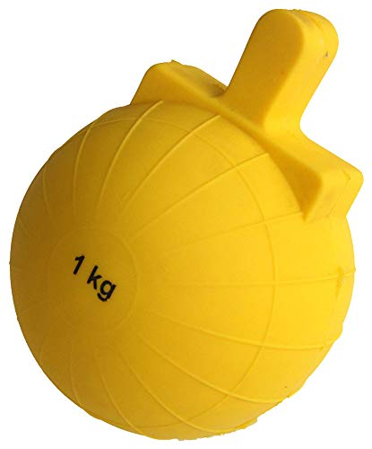 Boje Sport VINEX Nockenball für Speerwurf - 1000 g, gelb