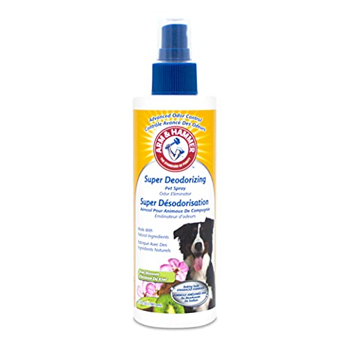 Arm & Hammer For Pets Super Deodorizing Spray for Dogs | Best Odor Eliminating Spray for All Dogs &...
