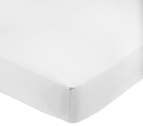 Amazon Basics AB 200TC Poly Cotton, Combinación de algodón, Blanco, 90 x 200 x 30 cm