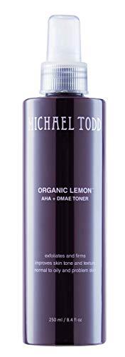 Michael Todd Organic Lemon Aha + DMAE Toner, 8.4 Fl Oz