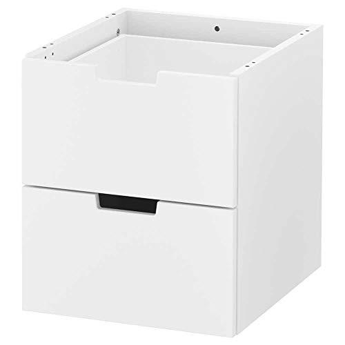 NORDLI Cassettiera modulare a 2 cassetti, bianco