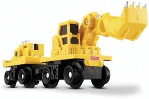 Fisher Price C6858 - Excavadora Excavadora Excavadora con remolque [importado de Alemania]  tiendas minoristas