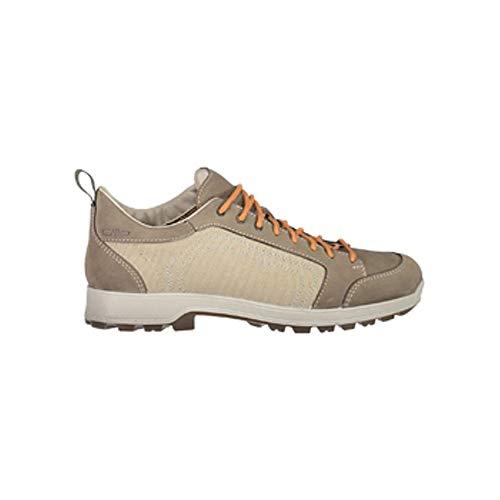 CMP Chaussures de Randonnée Chaussures D'Extérieur Atik Canvas WMN Hiking Chaussures Marron Léger Canvas - P753 Corda, 38 EU