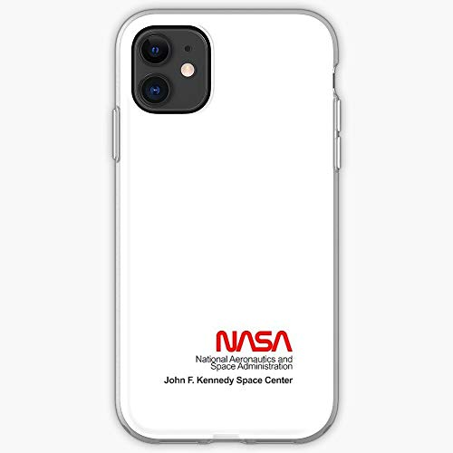 White NASA Vans Space X Cubierta de la Caja del teléfono de diseño único Snap/Glass para iPhone, Samsung, Huawei - TPU a Prueba de Golpes Interior Protector